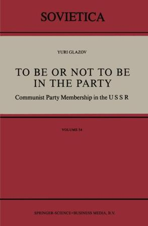 To Be or Not to Be in the Party