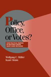 Policy, Office, or Votes?